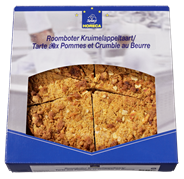 Horeca Select Roomboter Kruimelappeltaart 1,8 kg