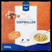 Horeca Select Soepbal diepvries ca. 450 stuks 2 kg
