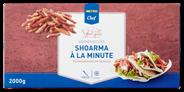 Horeca Select Varkensshoarma à la minute diepvries 2 kg