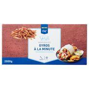 Horeca Select Gyros varkenvlees à la minute diepvries 2 kg