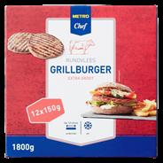 Horeca Select Ambachtelijke grillburger diepvries 12 x 150 gram