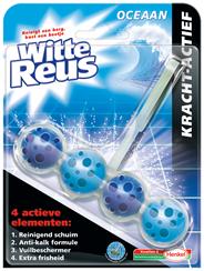 Witte Reus Kracht-actief Oceaan toiletblok
