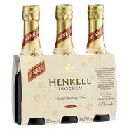 Henkell Sekt Trocken piccolo 3 x 200 ml