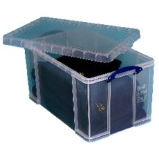 Really Useful Opbergdoos 84 liter transparant