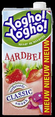 Yogho Yogho Aardbeien 6 x 1 liter