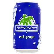 Fernandes Red grape blik 12 x 33 cl