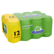 Fernandes Green punch blik 12 x 33 cl