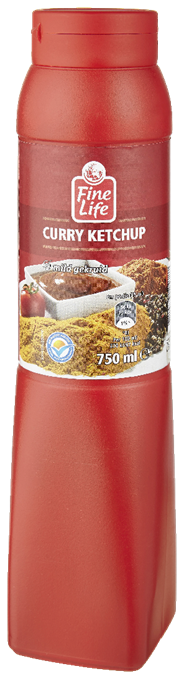 Fine Life Curry ketchup 750 ml