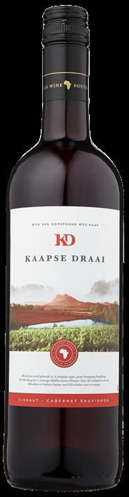 Kaapse Draai Cinsault / Cabernet sauvignon 750 ml