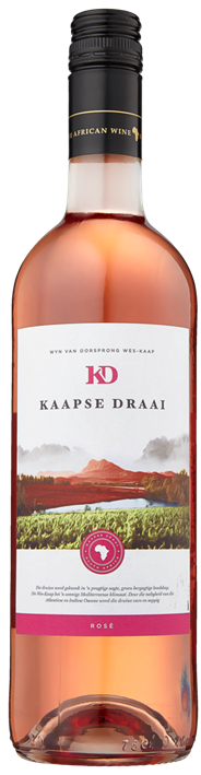 Kaapse Draai Rosé 6 x 750 ml