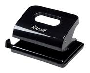 Rexel Ecodesk 2-gaats perforator zwart