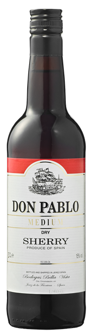 Don Pablo Sherry medium 750 ml