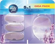 Ambi Pur Toiletblok Lavendel Promo Startpakketkit 4 x 55 ml