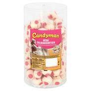 Candyman Mega salmiakknots 75 stuks