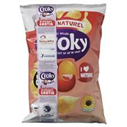 Croky Chips Naturel 12 x 100 gram