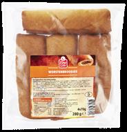 Fine Life Worstenbroodjes 4 x 70 gram