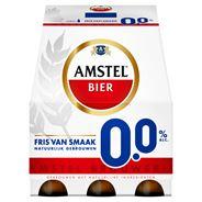 Amstel 0.0 Alcoholvrij Bier Fles 6 x 30 cl