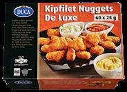 Duca Kipfilet nuggets de luxe 60 x 25 gram