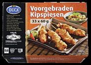Duca Voorgebraden kipspiesen 33 x 60 gram