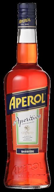 Aperol aperitief 6 x 700 ml