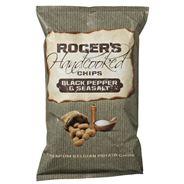 Rogers Handcooked chips Black pepper 9 x 150 gram