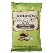 Rogers Handcooked chips Sour cream 9 x 150 gram
