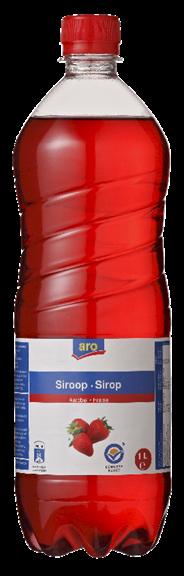 Aro Limonade Aardbei 1 liter