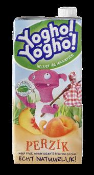 Yogho Yogho Perzik 6 x 1 liter