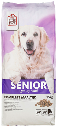 Fine Pets Hond senior 15 kg