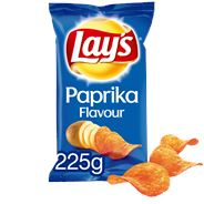 Lay's Chips Paprika 15 x  225 gram