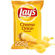 Lay's Chips Cheese & onion 15 x 225 gram
