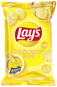 Lay's Chips Patatje Joppie 15 x 225 gram