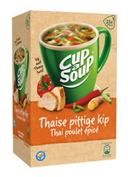 Unox Cup-a-Soup Sachets Thaise pittige kip 21  x 175 ml