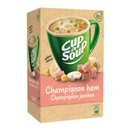 Unox Cup-a-Soup Sachets Champignon ham 21  x 175 ml