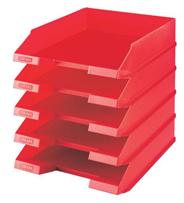 Sigma Brievenbak rood 5 stuks