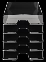 Sigma Brievenbak zwart 5 stuks