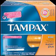 Tampax Super plus 20 stuks
