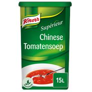 Knorr Supérieur Chinese tomatensoep 15 liter 1,35 kg
