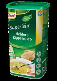Knorr Supérieur Heldere kippensoep 36 liter 1,44 kg