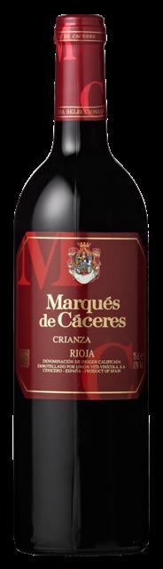 Marques de Caceres Rioja Crianza 6 x 750 ml