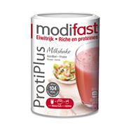 Modifast ProtiPlus Milkshake aardbei 540 gram