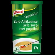 Knorr Supérieur Zuid-Afrikaanse gele soep met paprika 17 liter 1,2 kg