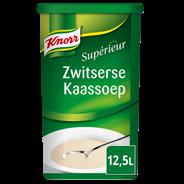 Knorr Supérieur Zwitserse kaassoep 12,5 liter 1,25 kg