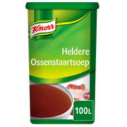 Knorr Heldere ossenstaartsoep 100 liter 1,5 kg
