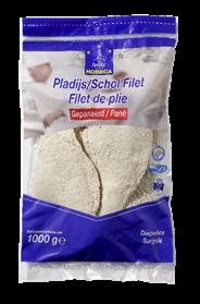 Horeca Select Scholfilet gepaneerd (MSC) 1 kg