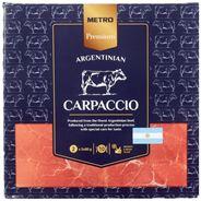 Metro Premium Rundercarpaccio 2 x 5 x 80 gram (diepvries)