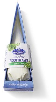 Windmolen Verse roomkaas bieslook spuitzak 125 gram
