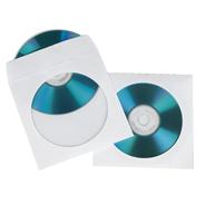 Hama Papieren dvd hoesjes wit 100 stuks