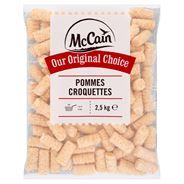 McCain Pommes Croquettes 2,5 kg