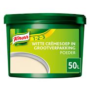 Knorr 1-2-3 Witte Crèmesoep 50L